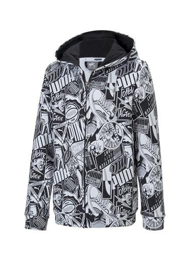 Puma Puma 58127501 Alpha Hooded Jacket SiyahErkek Çocuk Ceket Siyah